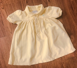 Girl's Yellow POLO RALPH LAUREN Dress