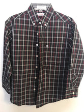 Load image into Gallery viewer, Boy's Plaid IZOD Long Sleeve Shirt