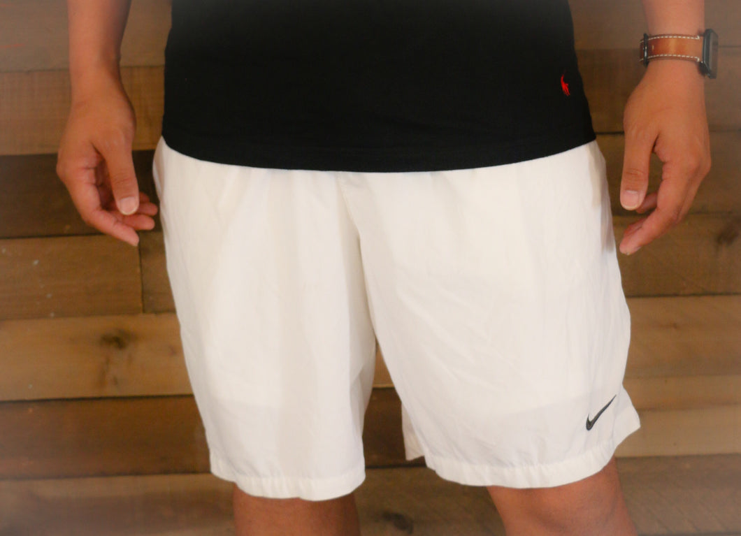 Men's White NIKE Shorts