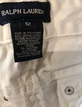 Load image into Gallery viewer, Girl's RALPH LAUREN White Jeans