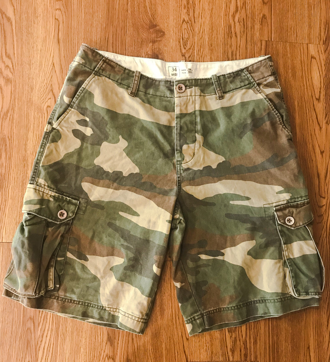 Men's Camouflage GAP Shorts