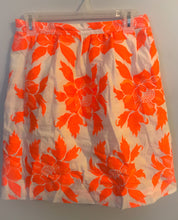 Load image into Gallery viewer, Women's J. CREW Coral Flower Skirt
