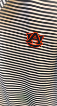 Load image into Gallery viewer, Men's Striped AUBURN Polo Style Shirt