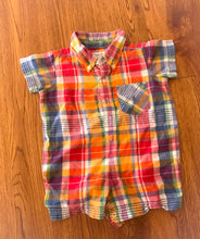 Load image into Gallery viewer, Baby Boy's POLO RALPH LAUREN Plaid Onesie