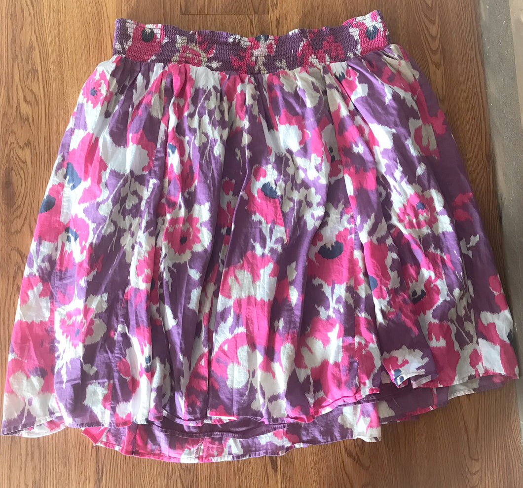 Women's Purple Flower MERONA Skirt