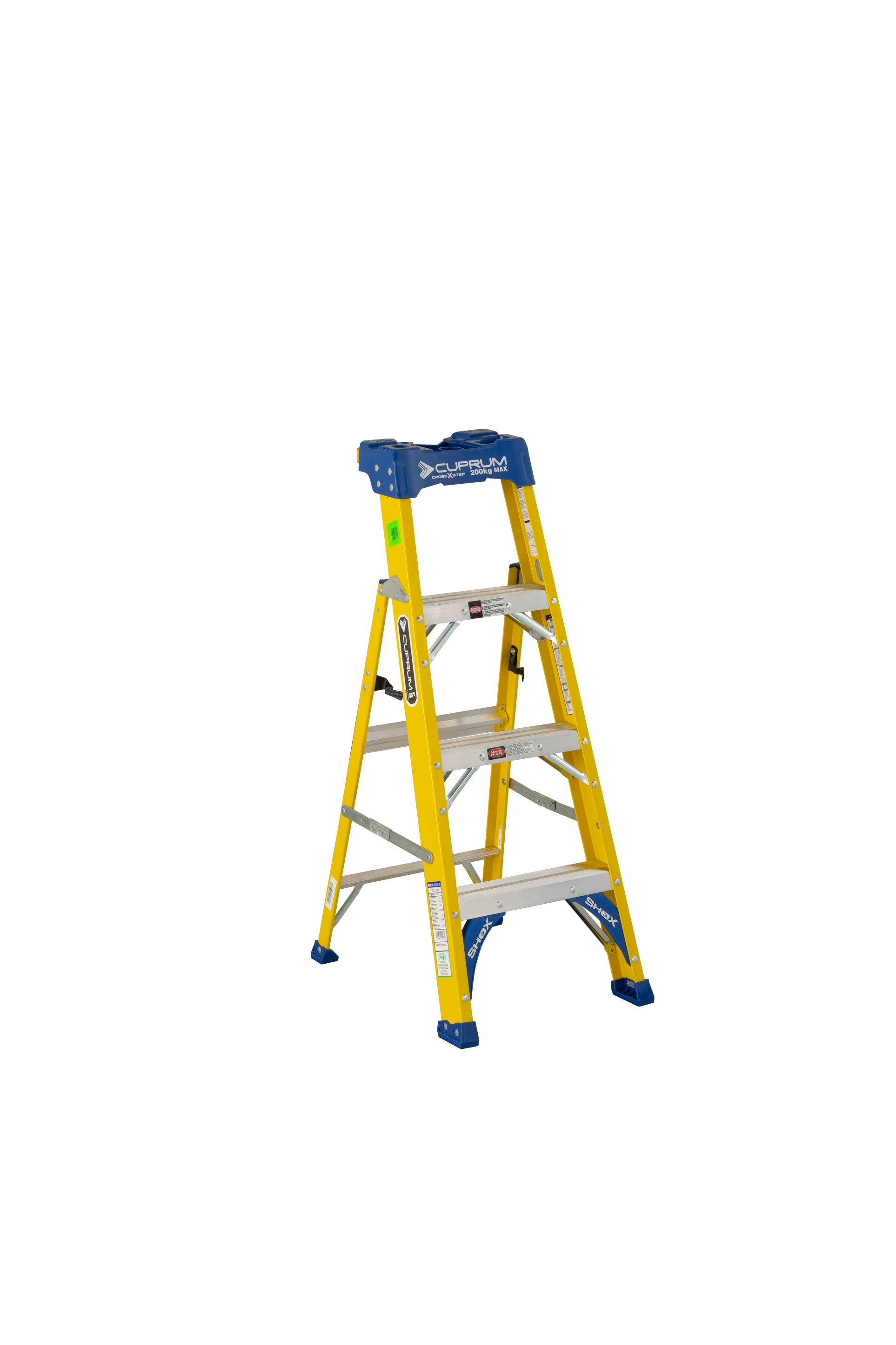 Escalera Cross Step de Fibra de vidrio C-3117-04