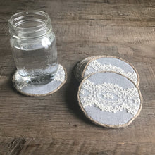 Load image into Gallery viewer, Lace Detail Coasters