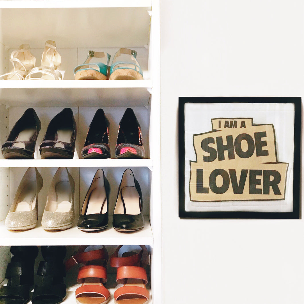 I Am A Shoe Lover Picture