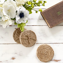 Load image into Gallery viewer, Jute Rope Coasters