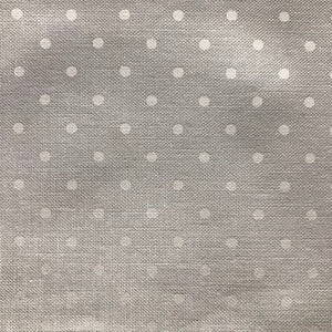 Off White Polka Dot Cloth Dinner Napkin - Set of 6
