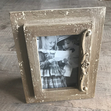 Load image into Gallery viewer, Antique Wooden Photo Frame