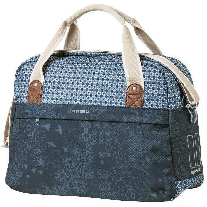 Basil Boheme Indigo Blue Carry All Rear Bag - 18 Litre