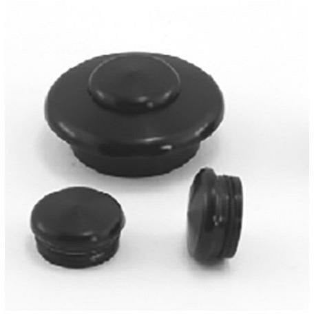 Pitlock Aluminium Plug For Ahead Headset 1 1/8 Inch Black