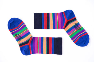 New York Navy God Sock - Merino