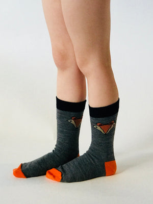 Merino Kids Socks - Foxy