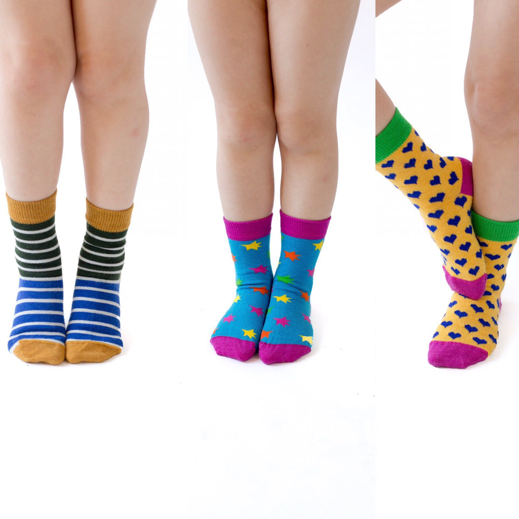 Lucky Dip  Kids God Sock 3 Pack