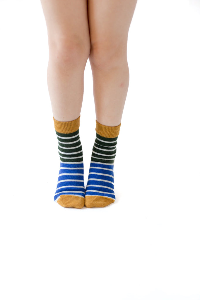 Merino Kids Socks - Stripes