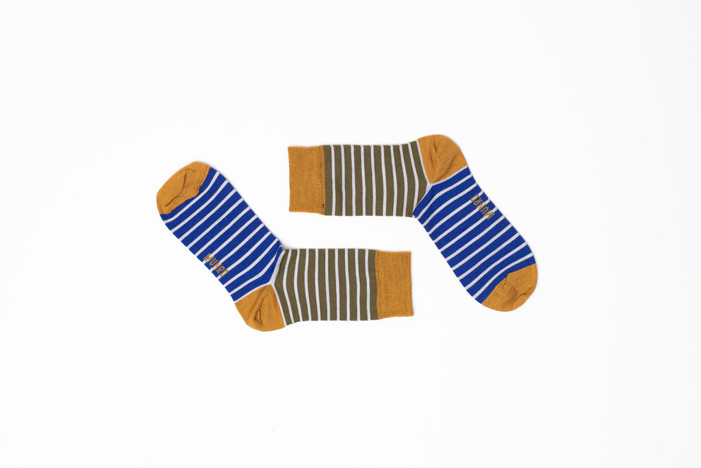 Barcelona Mustard God Sock