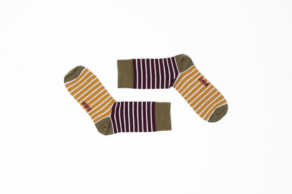 Barcelona Khaki God Sock