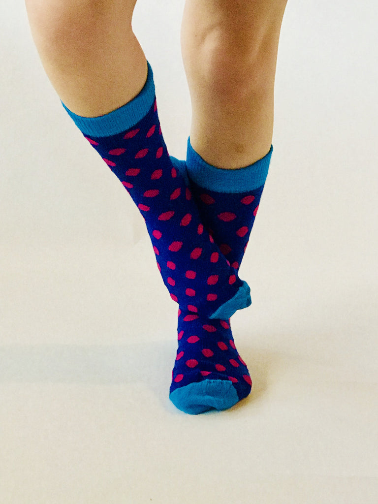 Merino Kids Socks - Spots