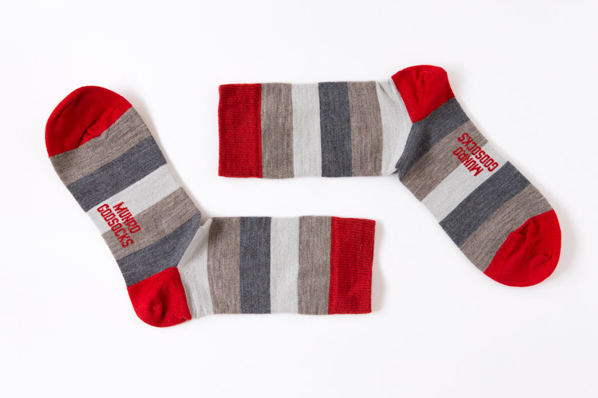 Moscow Red God Sock - Merino
