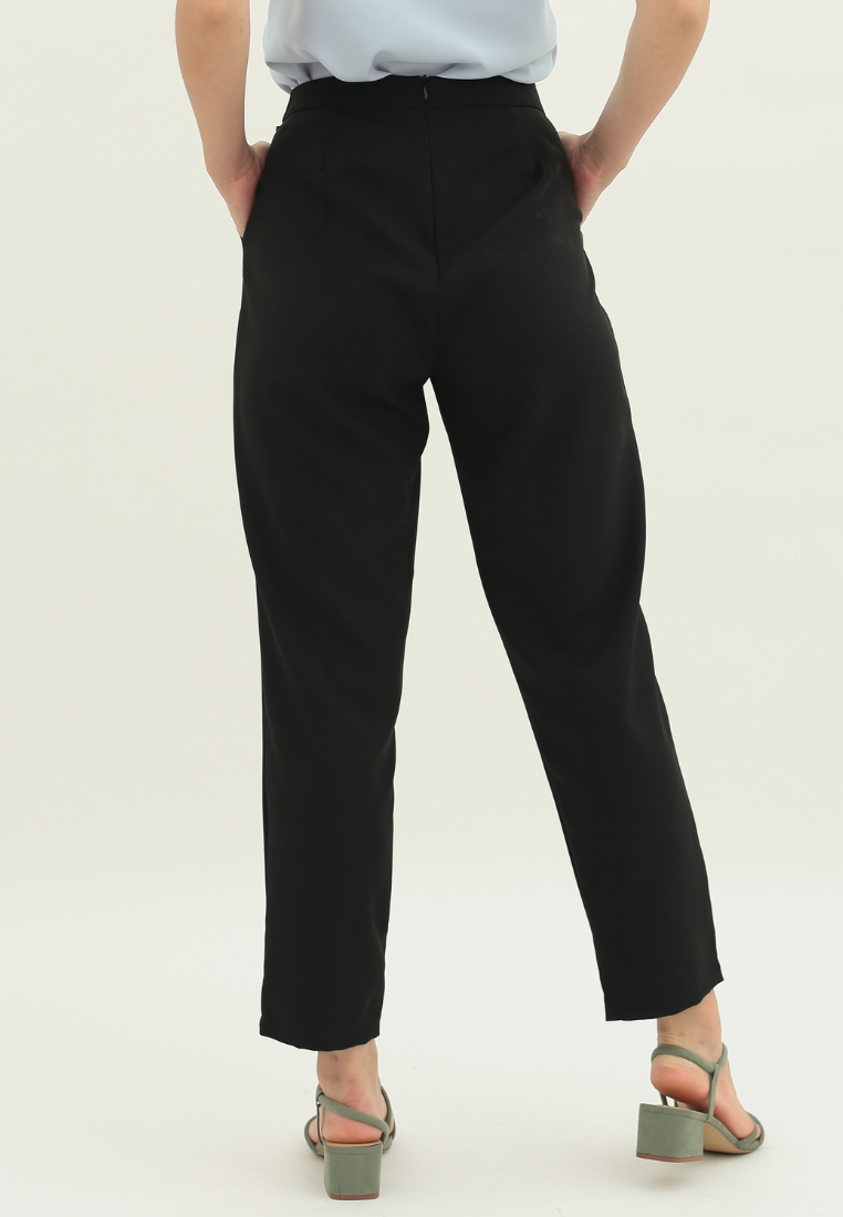 Daffodil Tapered Pants (Black)