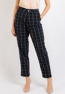 Inspire Checkered Pants (Navy)
