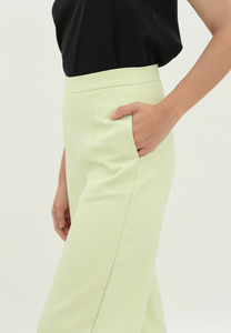 Iris Wide Leg Culottes (Lime Green)