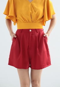 Erica Classic Shorts (Red)