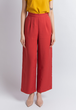 Load image into Gallery viewer, Joyful Wide Leg Pants (Coral)