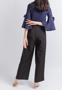 Joyful Wide Leg Pants (Black)