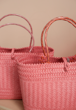 Load image into Gallery viewer, Borneo Hand Woven Bag (Pink)