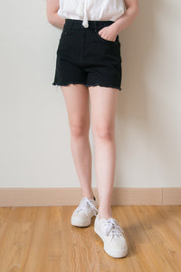 Danver Denim Shorts (Black)