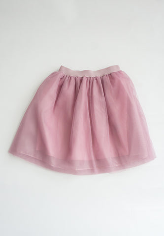 Little Molie Triple Layered Tulle Skirt (Pink)