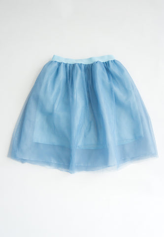 Little Molie Triple Layered Tulle Skirt (Blue)