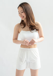 Milith Seamless Pants (White)