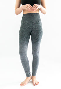Kinsler Ombre Sports Legging (Dark Grey to Light Grey)