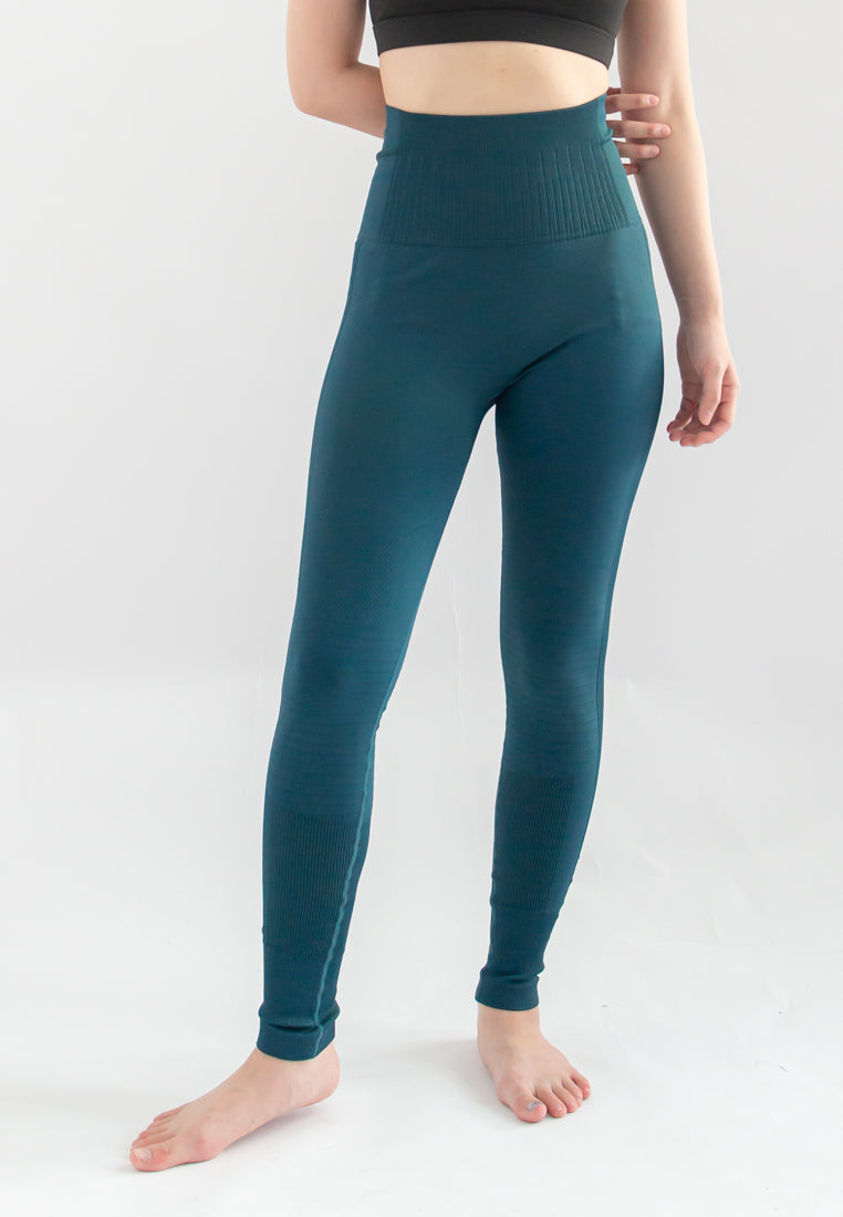 Trevor Solid Sports Legging (Teal)
