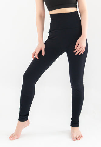 [Pre-order] Trevor Solid Sports Legging (Black)