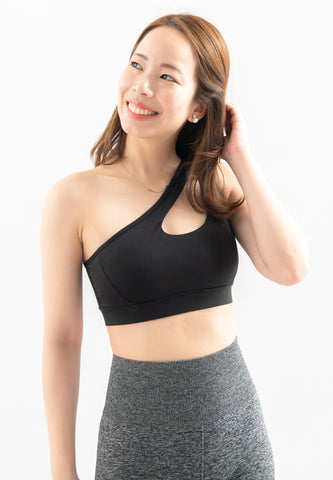 Leondra Toga Sports Bra (Black)