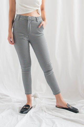 Indira Formal Skinny Pants (Black)