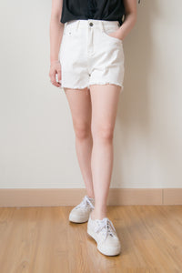 Danver Denim Shorts (White)