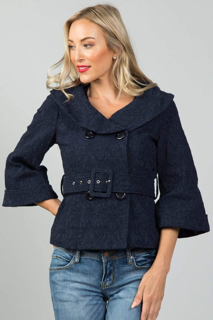 Ladies Fashion Textured Dress Jacket