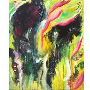 Acrylic Painting Abstract N21 Buy Now Artezaar Online Art Gallery in Dubai UAE