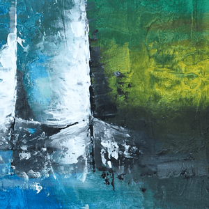Mixed Media Abstract Sail Boats Buy Now Artezaar Online Art Gallery in Dubai UAE
