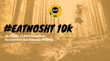 #Eatnosht 10K on March 28th - join our virtual race!
