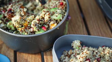 Athlete's all-in-one-pot quinoa salad