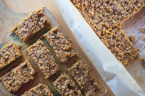 Ginger-carrot-flapjack