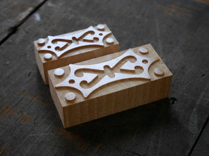 NEW Letterpress Space Ornament No. 1 - 8 or 6 line size