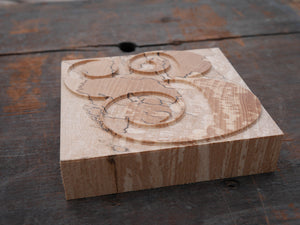 Limited Edition (only 5 made) Pistilli Ampersand in Spalted Beech - 20 line size